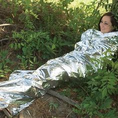 Emergency Survival Mylar Sleeping Blanket - 2 Pack Mylar http://www.amazon.com/dp/B002V14FCK/ref=cm_sw_r_pi_dp_2yHqxb195ZMBM