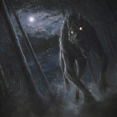 Awesome Werewolf portrait