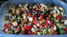 "Garden supreme pasta salad - """" @allthecooks #recipe"