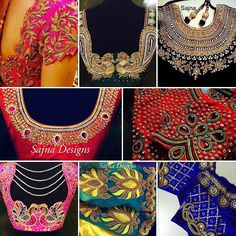 #blouse #patterns #trendy #ethnicwear #indianwedding #southindianbride #chennai #sajnadesigns #saree #blousedesign #colourful #bride #bridalwear