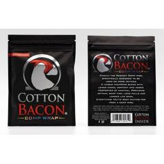 Cotton Bacon Comp Wrap Wick N Vape