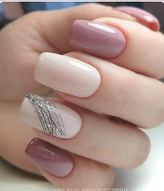 Manicure Nail Designs, French Manicure Nails, Acrylic Nail Designs, Nail Art Designs, Nails Design, Gel Nails, Coffin Nails, Glitter Nails, Nail Nail