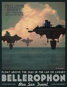 Firefly Travel Posters by Adam Levermore Not that I think we want to use these, but here they are anyway