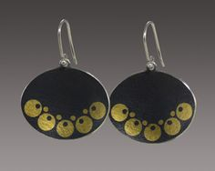 Ogonia Dangles sterling silver, gold