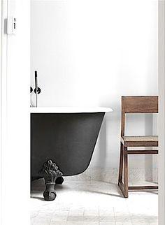 #bath #luxury #quaint #black