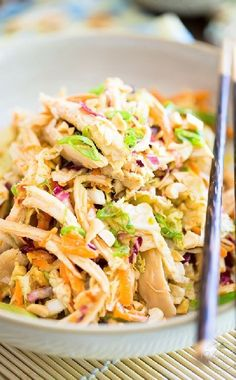 Low FODMAP and Gluten Free Recipes -  Asian pulled chicken salad  --  http://www.ibssano.com/low_fodmap_recipe_asian_pulled_1chicken_salad.html
