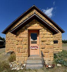 Chuck Bonner and Barbara Shelton's Keystone Gallery near Scott City, Kansas.
