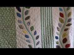 How to make a curved vine for applique My Sewing Room, Sewing Rooms, Love Sewing, Hand Applique, Applique Quilts, Applique Tutorial, Hexagon Pattern, 8th Of March, Quilt Blocks