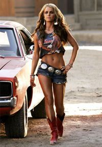 Jessica Simpson's Daisy Duke workout- she did 5 times a week! Sooo doin this!.