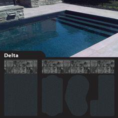 Slate Grey Black Granite Pool Liner Google Search
