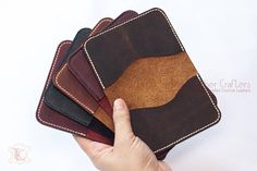 Items similar to Two Pocket Leather Bifold Wallet - Leather Bifold Card Holder, Personalized Gift for Mom, Personalized Gift for Dad,Leather Anniversary Gift on Etsy Leather Anniversary Gift, Anniversary Gifts, Personalized Gifts For Dad, Leather Wallets, Leather Bifold Wallet, Card Holders, Card Wallet, Gifts For Mom, Pocket