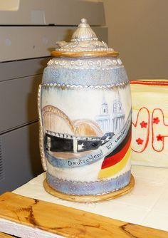 German beer stein cake by lvwcakes, via Flickr