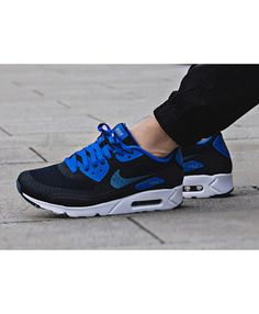 separation shoes c9ce9 55c1c Buy the latest fashion Nike Air Max 90 Ultra Essential Dark Obsidian Hyper  Cobalt White Ocean Fog Men s Shoes save up to off.