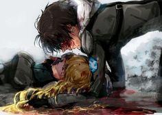 Aldnoah.Zero - !!!!! Inaho & Asseylum.