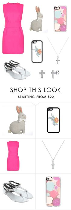 """HAPPY EASTER!!"" by mad-fred ❤ liked on Polyvore featuring Ashley Williams, Balenciaga, Casetify, BERRICLE, Easter, love, Bunny, early and Spring2017"