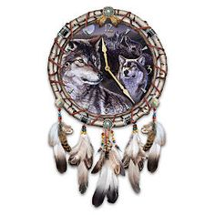 All Agnew Wolf Art Wall Clock