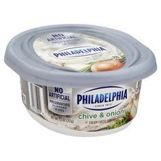 Philadelphia Cream Cheese Spread, Chive & Onion