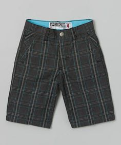 Look at this #zulilyfind! Black Architect Walk Shorts - Boys by Micros #zulilyfinds