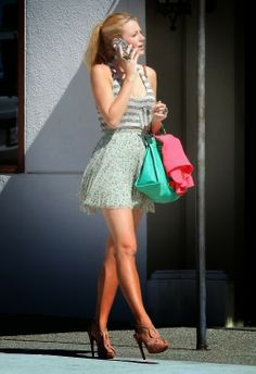 Cute street style for Blake Lively