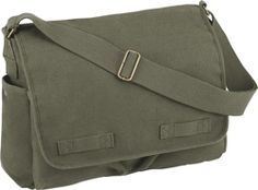 Rothco's Vintage Unwashed Canvas Messenger Bag is the perfect shoulder bag that can carry almost anything! View Rothco's full line of messenger shoulder bags. Get Home Bag, Classic Army, Canvas Messenger Bag, Vintage Canvas, Purses For Sale, Purse Sale, Travel Accessories, Travel Bags, Just In Case