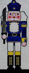 Needlepoint Canvas - Nutcracker decorative toy drawing - 6.1' x 14.9' / 18 / Canvas Only