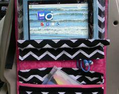 Car organizer for Ipad or tablet car accessory