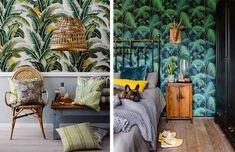 La Fabrique à Déco: Tendance déco : murs tropicaux et jungle d'intérieur