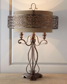 Moroccan-Inspired Lamp by John-Richard Collection at Neiman Marcus.