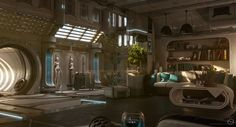 Home by Carsten Stueben | Sci-Fi | 3D | CGSociety: