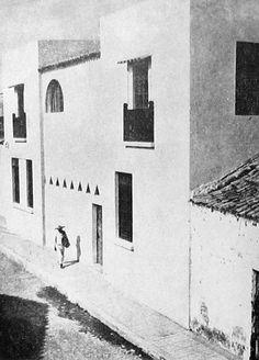 Casa de la familia Barragán, centro de Chapala, Jalisco, 1931