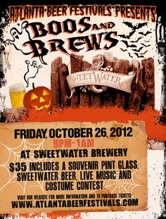 Halloween at SweetWater, yup, it's awesome.  Sell out crowd last year.