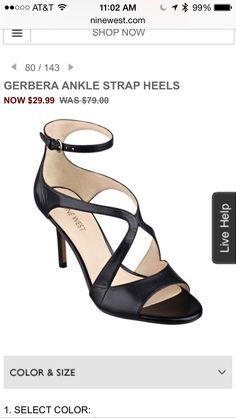 NW ankle strap