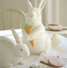 Bunny & Cookies Easter Decorating Ideas