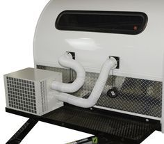 Teardrop Trailer Air Conditioner and Heater   Climate Right Air