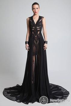 black dress haute couture - Google Search