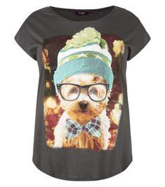 Inspire Grey Geek Dog T-Shirt £7.99 20
