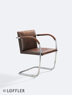 Brno chair, Ludwig Mies van der Rohe.  Design: 1929-1930