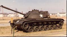 The US M48 Patton Tank
