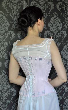 Before the Automobile: Natural form era corset