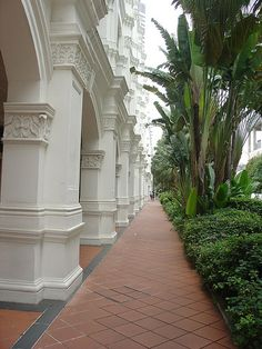 Raffles Hotel, Singapore - http://singapore-mega.com/raffles-hotel-singapore-3/