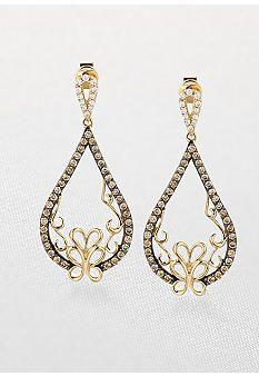 Le Vian® Chocolate Diamond® Drop Earrings   l Belk