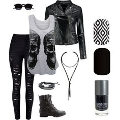 A fashion look from February 2016 featuring WearAll tops, Boohoo jackets and Bamboo ankle booties. Browse and shop related looks.