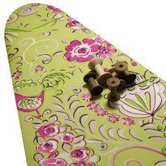 PADDED Ironing Board Cover made with Dena Designs Tea Garden Honeybush fabric