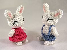 Ravelry: Easter Bunnies pattern by First Floor Crafts