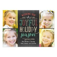 Shop Joyful Season Holiday Photo Magnetic Card created by berryberrysweet. Personalize it with photos & text or purchase as is! Christmas Photo Cards, Christmas Photos, Holiday Cards, Christmas Holiday, Christmas Party Invitations, Create Your Own Invitations, Holiday Photos, Joyful, Seasons