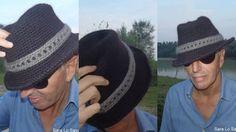 cappello Panama all'uncinetto - schema gratis. Da provare con la raffia!