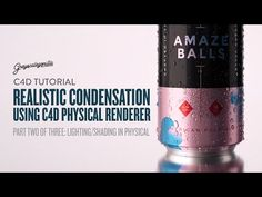 Part Two of Three: Learn how to shade and render realistic condensation on a Tallboy Beer Can using the Physical Renderer in ***** New To Cinema . Motion Design, Tutorial Sites, 3d Tutorial, Ios Design, Dashboard Design, Graphic Design, Cgi, User Experience Design, Customer Experience