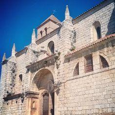 Gótico y románico en la Iglesia del Salvador. Simancas.