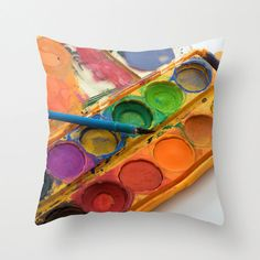 Hey, I found this really awesome Etsy listing at https://www.etsy.com/listing/174903234/artist-gift-bright-pillow-cover-throw