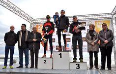 Sitges Mitja Marató 2013. Podio Mitja Marató categoría Masculina absoluta. 1.- Roger Roca. 2.- Albert Moreno. 3.- Oscar Rodríguez.